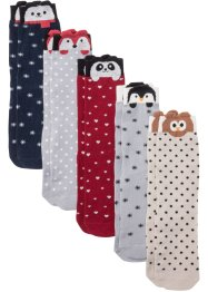 Socken Bio Baumwolle (5er Pack), bpc bonprix collection