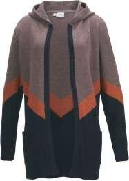 Strickmantel mit Colour-Blocking, bpc bonprix collection
