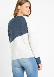 Pullover mit Colour-Blocking, bpc bonprix collection