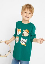 Jungen Langarmshirt (2er Pack), bpc bonprix collection