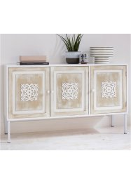 Sideboard mit 3 Türen und Ornamenten, bpc living bonprix collection