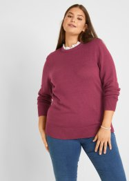 Pullover mit Bluseneinsatz, bpc bonprix collection