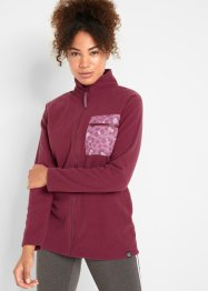 Modische Fleecejacke, langarm, bpc bonprix collection