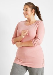 Sport-Longshirt mit Bio-Baumwolle, (2er Pack), bpc bonprix collection