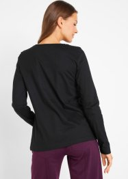 Langarmshirt mit Katzendruck, bpc bonprix collection