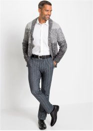 Regular Fit, Flanellhose mit Bequembund Straight, bpc selection