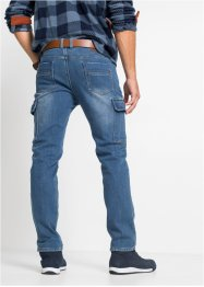 Regular Fit Thermo-Stretch-Jeans, Straight, John Baner JEANSWEAR