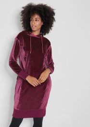 Samt-Oversize-Kleid, langarm, bpc bonprix collection