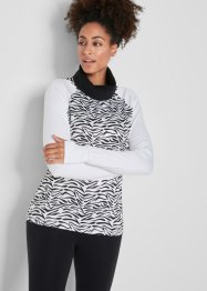 Modisches Funktions-Sport-Shirt, langarm, bpc bonprix collection