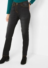 Thermojeans, Straight mit Push-up-Effekt und Bequembund, bpc bonprix collection
