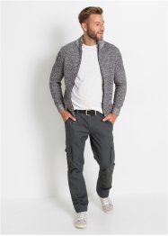 Strickjacke mit Stehkragen, bpc bonprix collection