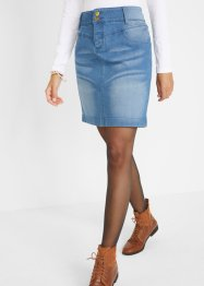 Jeansrock mit recyceltem Polyester, bpc bonprix collection
