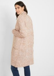 Longstrickjacke mit recycelter Baumwolle, bpc bonprix collection