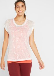 Sommerliches 2 in 1-Sportshirt, kurzarm, bpc bonprix collection