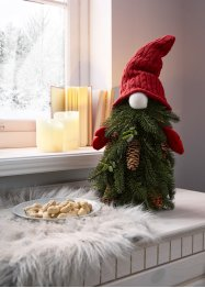 Deko-Santa mit Tannengrün, bpc living bonprix collection