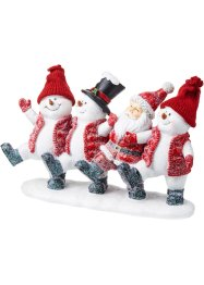 Deko-Figur Schneemann & Santa, bpc living bonprix collection