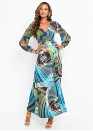 Wickelkleid mit Print, BODYFLIRT boutique