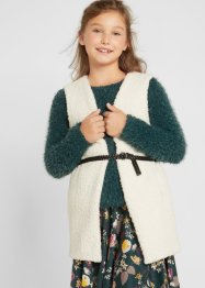 Mädchen Teddyfleece Weste, bpc bonprix collection