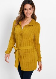 Longstrickjacke mit Zopfmuster, bpc selection
