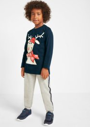 Jungen Langarmshirt und Sweathose (2-tlg.Set), bpc bonprix collection
