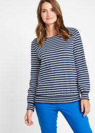 Langarmshirt mit Smock, bpc bonprix collection