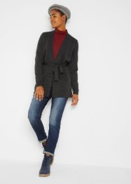 Strickjacke mit Bindeband, bpc bonprix collection