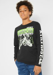 Jungen Langarmshirt, Slim Fit, bpc bonprix collection