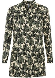 Longbluse in Camouflage Optik, RAINBOW