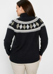Norweger-Pullover mit Wollanteil, bpc selection premium
