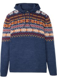Norweger-Pullover mit Kapuze, bpc bonprix collection