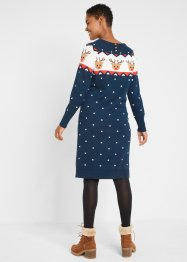 Weihnachts- Strickkleid Rentier, bpc bonprix collection