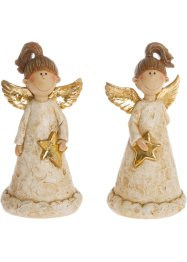 Deko-Figur Engel, 2er-Set, bpc living bonprix collection