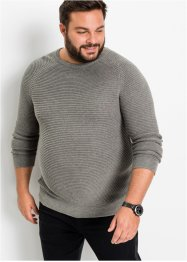 Pullover in Querrrippe, bpc bonprix collection