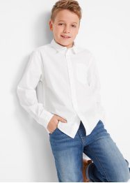 Jungen Langarmhemd, Slim Fit, bpc bonprix collection