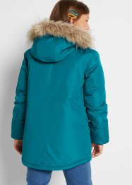 Mädchen Parka mit Fellimitatkapuze, bpc bonprix collection