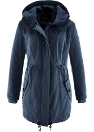 Long-Winterjacke mit Teddykragen, bpc bonprix collection