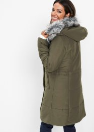 Longjacke mit Fellimitat, bpc selection