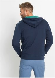 Kapuzen-Sweatjacke aus Bio Baumwolle, bpc bonprix collection