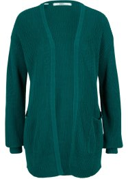Strickcardigan in Rippstruktur mit Taschen, bpc bonprix collection