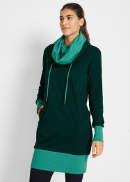 Sweatkleid mit Bio-Baumwolle, langarm, bpc bonprix collection