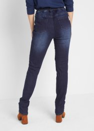 Maite Kelly Stretch-Jeans mit Bikerdetails, bpc bonprix collection