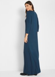 Stretch-Maxikleid in A-Linie, 3/4 Arm, bpc bonprix collection