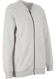 Sweatjacke mit Bio-Baumwolle, langarm, bpc bonprix collection