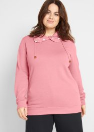 Sweatshirt mit bedrucktem Rollkragen, bpc bonprix collection