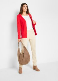 Basic Feinstrickjacke mit Knopfleiste, bpc bonprix collection