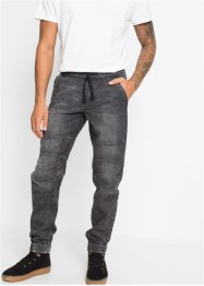 Slim Fit Stretch-Schlupfjeans, Straight, RAINBOW