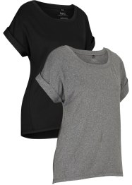Sport-Shirt, 2er-Pack, kurzarm, bpc bonprix collection