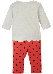 Baby Shirt und Leggings (2-tlg.Set) Bio-Baumwolle, bpc bonprix collection
