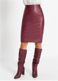 Pencil-Skirt, Leder-Imitat, BODYFLIRT boutique