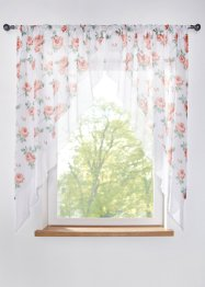 Kleinfenster mit Blumen Druck (2-tlg.Set), bpc living bonprix collection